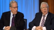 בוב וודוורד וקרל ברנסטיין (צילום מסך)