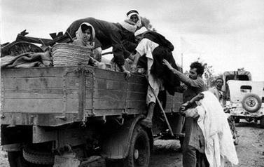 """ערבים נמלטים ב-48' (מאתר אונר""""א)"""