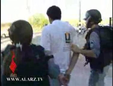 סעאדה אבו-חטום מרדיו א-שמס נעצר על-ידי המשטרה (צילום מתוך הסרט)