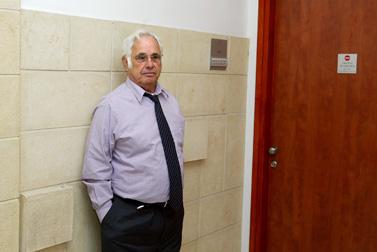 משה טלנסקי אתמול בבית-המשפט (צילום: אוליביה פיטוסי)