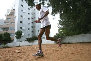 הרץ היילה סטאין, שנעצר השבוע באתיופיה (צילום: יוסי זמיר)
