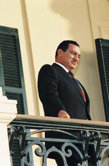 נשיא מצרים חוסני מובארכ (צילום: פלאש 90)
