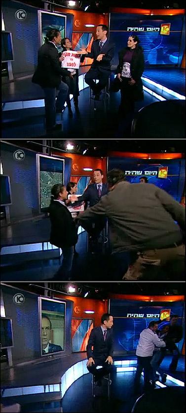 """(צילום מסך: התוכנית """"היום שהיה"""" של גיא זוהר, ערוץ 10)"""