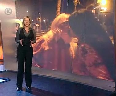 מתוך המשדר של ערוץ 10 על גואל רצון (בתמונה למטה: מיקי חיימוביץ')