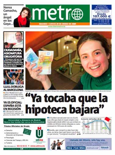 """""""מטרו"""", הגרסה הספרדית, מדריד"""