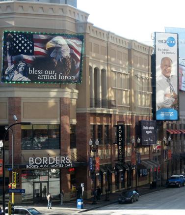 שלט פרסומת לתוכנית הרדיו של ראש לימבו, מינסוטה (צילום: טרומאס ברונוט, רשיון CC)