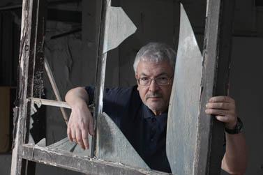 מיכאל בריזון (ב. מיכאל), 17.1.2010 (צילום: יוסי זמיר)