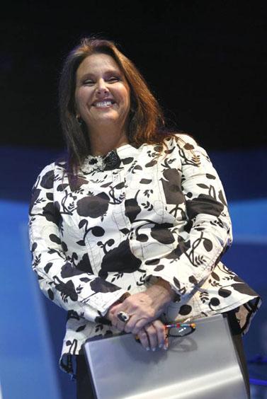 שרי אריסון, בעלת השליטה בבנק הפועלים (צילום: מיכל פתאל)