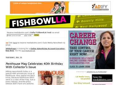 emPenthouse-em Mag Celebrates 40th Birthday With Collector's Issue - mediabistro.com- FishbowlLA