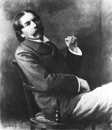 תורסטין ובלן (ציור של אדווין ב. צ'יילד, גלריית אוניברסיטת ייל, 1934)