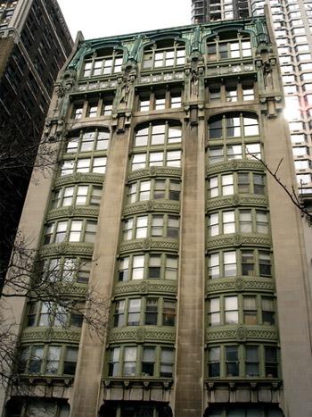 """בניין ה""""איבנינג פוסט"""" בניו-יורק"""