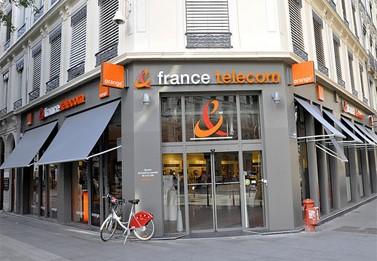 חנות של פראנס-טלקום. ליון, צרפת (צילום: Ambrosiana, רישיון cc)
