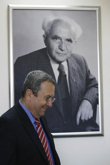 שר הביטחון אהוד ברק, יולי 2009  (צילום: מרים אלסטר)