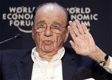"""יו""""ר ניוז-קו, רופרט מרדוק. הפורום הכלכלי העולמי 2009  (צילום: world economic forum, רשיון cc-by-sa)"""