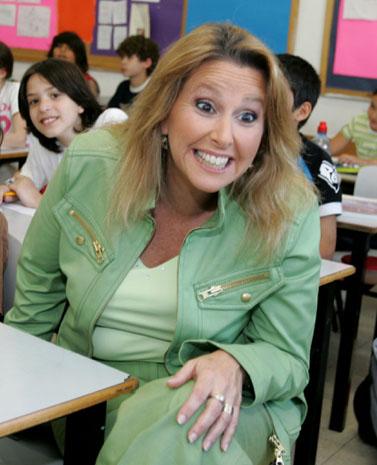שרי אריסון, מאי 2006 (צילום: משה שי)