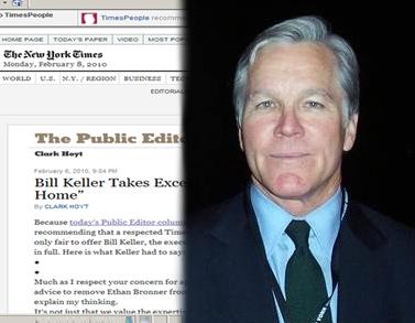 """ביל קלר, העורך הראשי של ה""""ניו-יורק טיימס"""" (צילום: Hunter Khan)"""