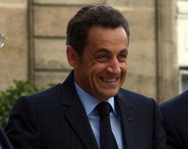 נשיא צרפת ניקולא סרקוזי (צילום: פלאש 90)
