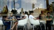 בית-קפה בירושלים (צילום: פלאש 90)