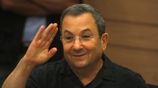 שר הביטחון אהוד ברק, השבוע בכנסת (צילון: ליאור מזרחי)