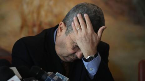 שר הביטחון אהוד ברק . 17.1.11 (צילום: ליאור מזרחי)