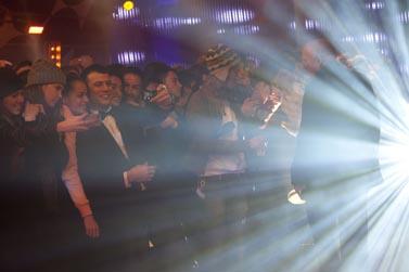 """אולפן תוכנית הטלוויזיה """"האח הגדול"""", 26.1.2011 (צילום: דוד ועקניו)"""