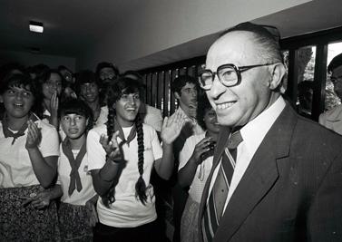 ראש הממשלה מנחם בגין, יולי 1981 (צילום ארכיון)