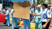 מחאת הרופאים (צילום: יוסי זליגר)