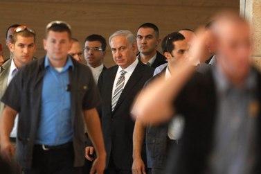 בנימין נתניהו, ראש ממשלת ישראל, אתמול בכנסת (צילום: ליאור מזרחי)