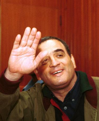 נחום מנבר, דצמבר 2008 (צילום ארכיון)