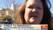 """בעלת המכרות ג'ינה ריינהארט, מתוך תוכנית הבוקר """"סאנרייז"""" בערוץ 7 האוסטרלי (צילום מסך)"""