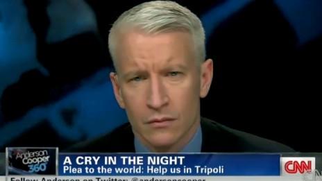 עיתונאי CNN אנדרסון קופר (צילום מסך)