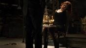 """השחקנית סקרלט ג'והנסון כ""""אלמנה השחורה"""" בסרט """"הנוקמים"""""""