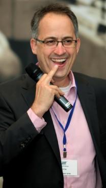 """גיא רולניק, המייסד והעורך הראשי של """"דה-מרקר"""" (צילום: משה שי)"""