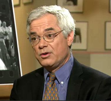 דייוויד מרגוליק בראיון ל-PBS (צילום מסך)