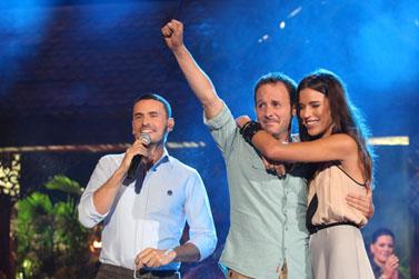 """תמונת הניצחון של סדרת הריאליטי """"הישרדות"""" (צילום: יואב ארי דודקביץ')"""