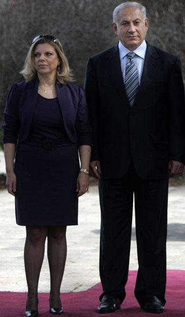 בנימין ושרה נתניהו (צילום: דניאל בר-און)