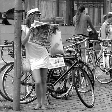 פינת רחוב בקופנהגן, דנמרק. יוני 2010 (צילום: ביורן גיסנבאואר, רשיון cc-by-nc-as)