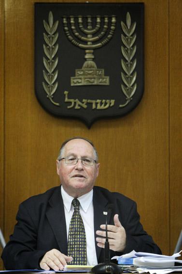 השופט אליקים רובינשטיין (צילום: מרים אלסטר)