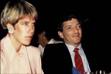 ג'ודי ניר-מוזס ועמירם ניר, 1985 (צילום: משה שי)