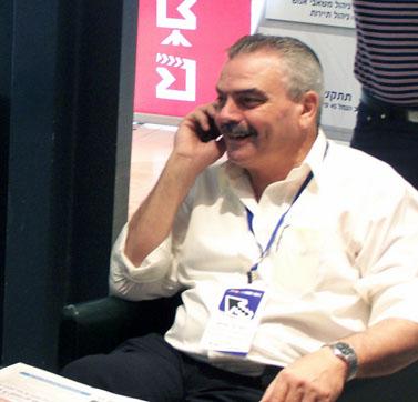"""מנכ""""ל אגודת העיתונאים תל-אביב יוסי בר-מוחא (צילום: """"העין השביעית"""")"""