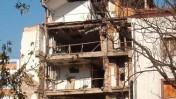 """בניין תחנת הטלוויזיה והרדיו הסרבית RTS לאחר שהופצץ על-ידי כוחות נאט""""ו באפריל 1999 (צילום: נחלת הכלל)"""