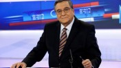 יעקב אחימאיר באולפן הערוץ הראשון, אפריל 2011 (צילום: דוד ועקנין)