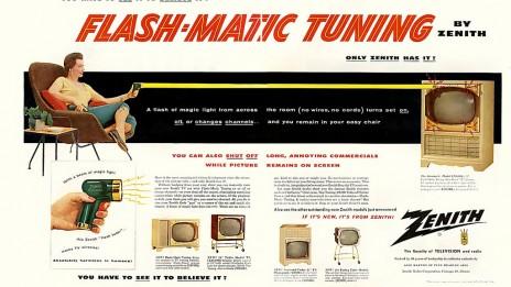 פרסומת לטלוויזיה, 1955 (ג'יימס ווהן, רשיון cc-by-nc-sa)