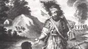 רובינזון קרוזו מציל את ששת מהקניבלים (נחלת הכלל)