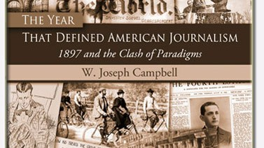"""""""השנה שהגדירה את העיתונות האמריקאית"""" (עטיפת הספר)"""