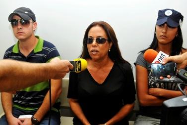 הזמרת מרגלית צנעני בבית-המשפט, 17.08.11 (צילום: יוסי זליגר)