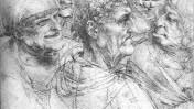 Leonardo da Vinci, Five Characters in a Comic scene