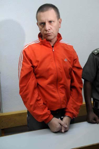 דמיאן קרליק, רוצח ששת בני משפחת אושרנקו (צילום: יוסי זליגר)