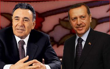 מימין: ראש ממשלת טורקיה ארדואן, ואיל ההון והמדיה הטורקי דואן