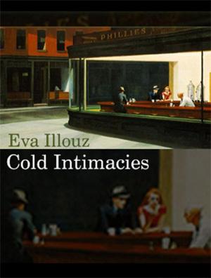 """עטיפת הספר """"אינטימיות קרה"""" מאת אווה אילוז"""